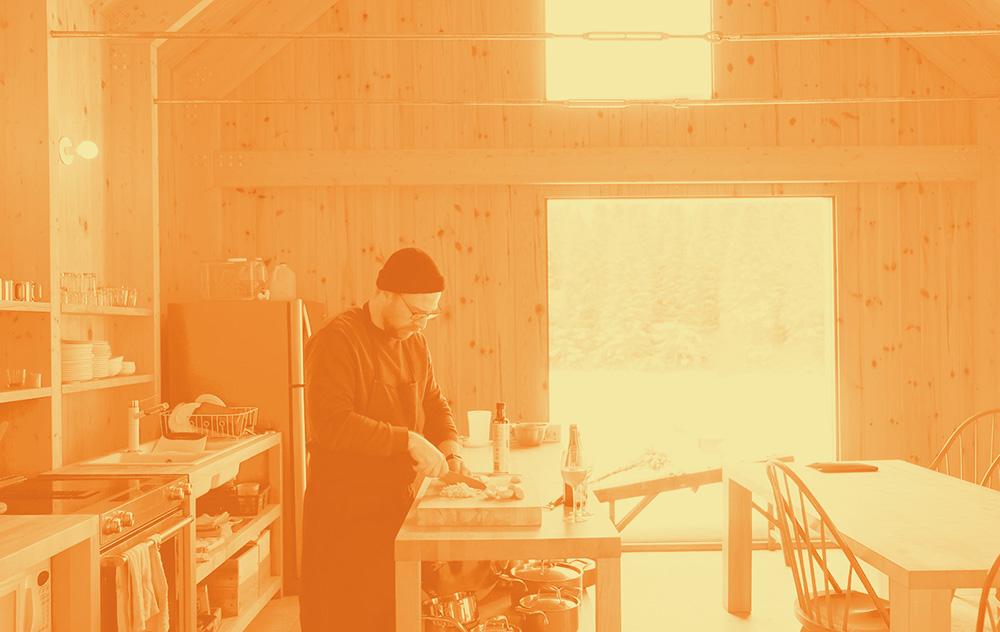 Frédéric Boucher – Chef aux Jardins de métis
